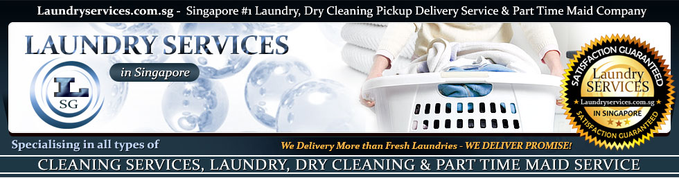Laundryservices.com.sg -  Singapore #1 Laundry, Dry Cleaning Pickup Delivery Service & Part Time Maid Company. Specialising in all types of Cleaning Services, Laundry, Dry Cleaning & Part Time Maid Service. Laundryservices.com.sg - Delivery More than Fresh Laundries - We Deliver Promise!