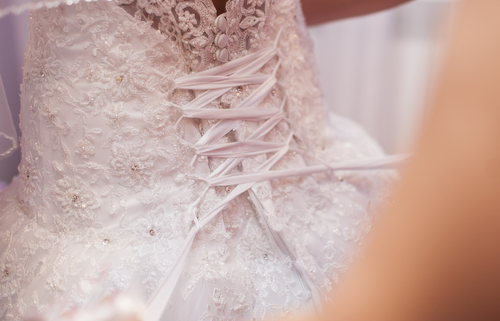 Clean Wedding Gown
