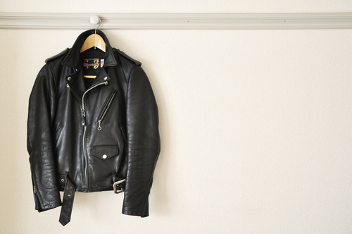 Clean Mouldy Leather Jacket