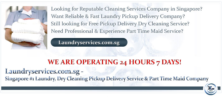 Looking for Reputable Cleaning Services Company in Singapore? Want Reliable & Fast Laundry Pickup Delivery Company? Still looking for Free Pickup Delivery Dry Cleaning Service? Need Professional & Experience Part Time Maid Service?